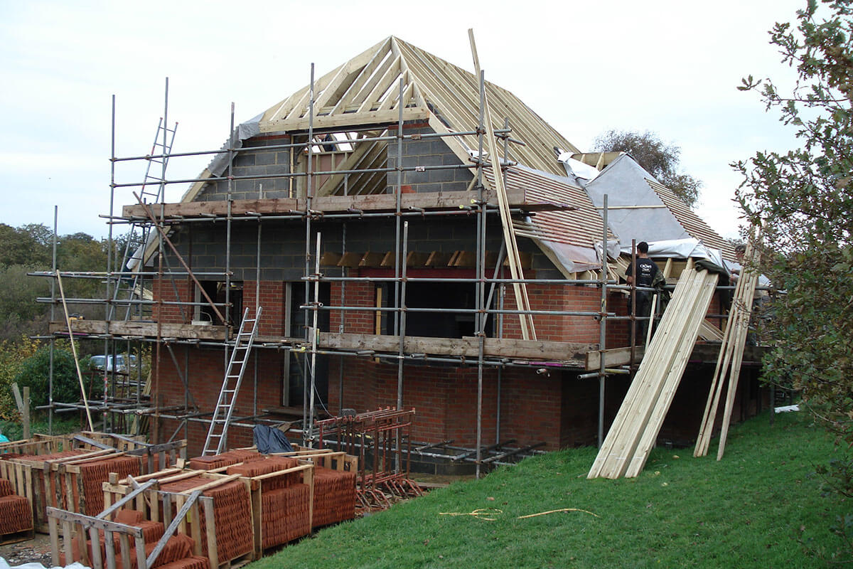 S D Newbury is an established and reliable house builder in East Sussex